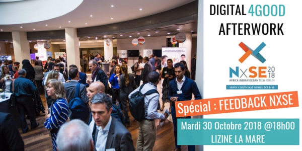Digital 4Good Afterwork - Spécial NxSE2018