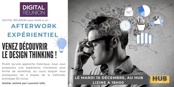 Afterwork expérientiel : LE DESIGN THINKING