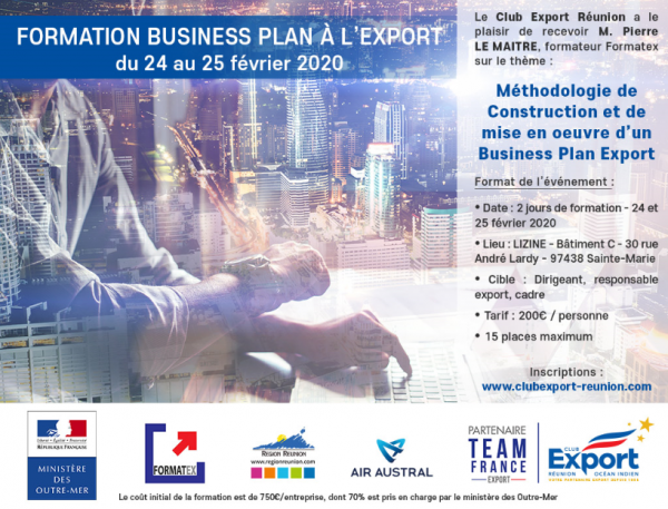 Formation Business Plan à l'Export